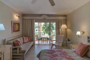 Double Garden View rooms at Iberostar Selection Hacienda Dominicus Hotel